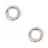 Jump Ring Round 4.5mm OD 20gauge Silver Soldered